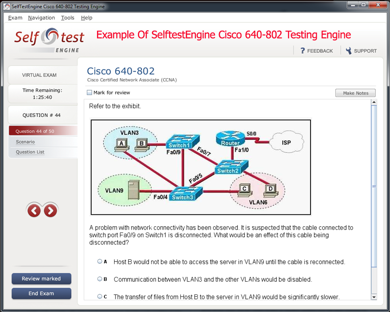 Look Through E3 Exam Testing Engine